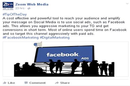 Facebook Hash tag