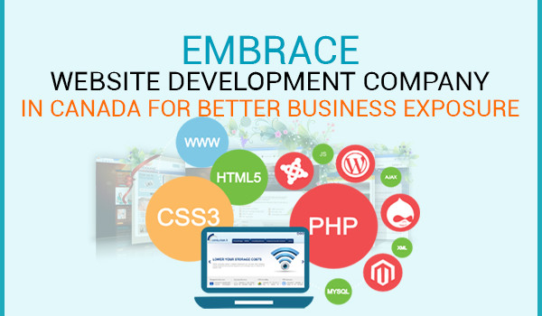 Embrace Website Development Company In Canada For Better Business Exposure