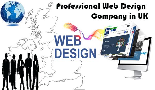 Professional Web Design Company In UK