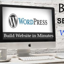Create SEO Friendly WordPress Website in Minutes